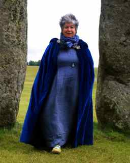 Chloë told stories at Stonehenge for summer solstice