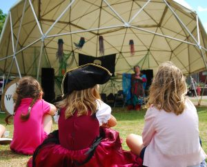 Dragon Tales at Bristol Pirate Festival - photo by Marie Ponting
